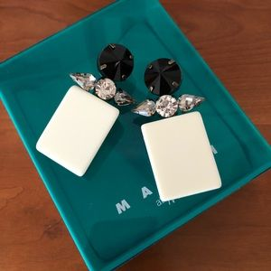 Marni x H&M collection earrings